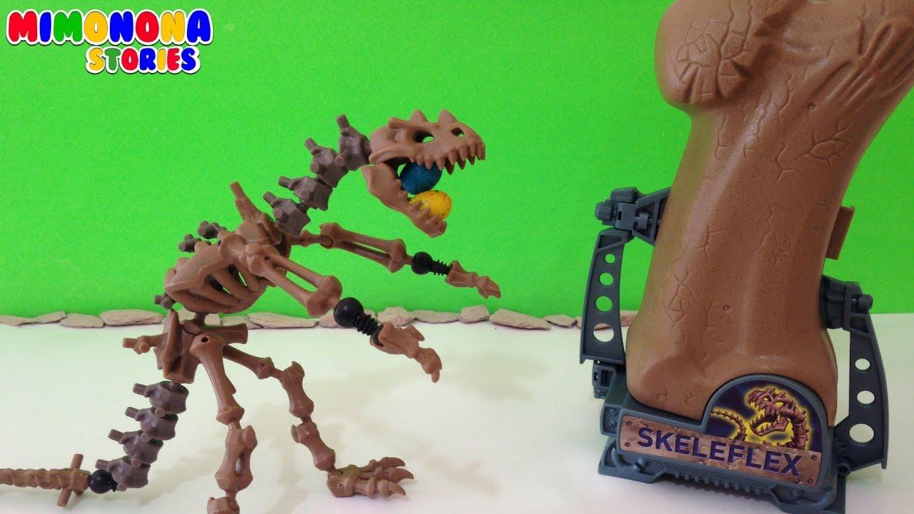 Esqueleto de Dinosaurio | Ceratosaurio Skeleflex | Juguetes de ...