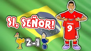 🎵SI SEÑOR🎵 Firmino Winner - Liverpool vs Spurs (2020 2-1 Goals Highlights Song Roberto Tottenham)