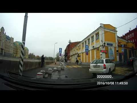 Driving In Moscow: Лефортово - Якиманка - Гагаринский - Раменки - Дорогомилово 08/10/2016 (4x)