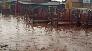 Happening Now At Nalokolongo Houses Full Of Water