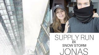 Supply Run + SNOW STORM JONAS NYC