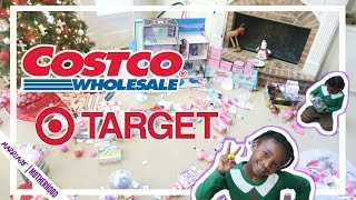 Costco Haul 🛒Target Shop with me🛍️ Christmas Cook with me 🎄