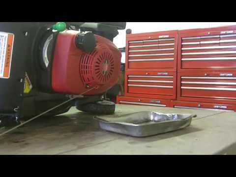 Changing & Draining Your Walk Behind Lawn Mower's Oil