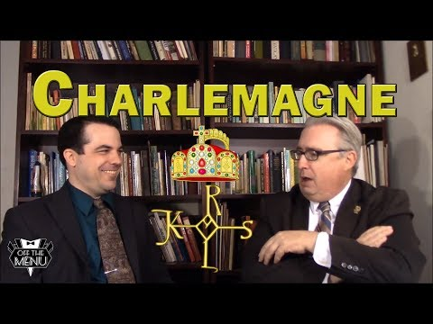 Why is Charlemagne not canonized yet?