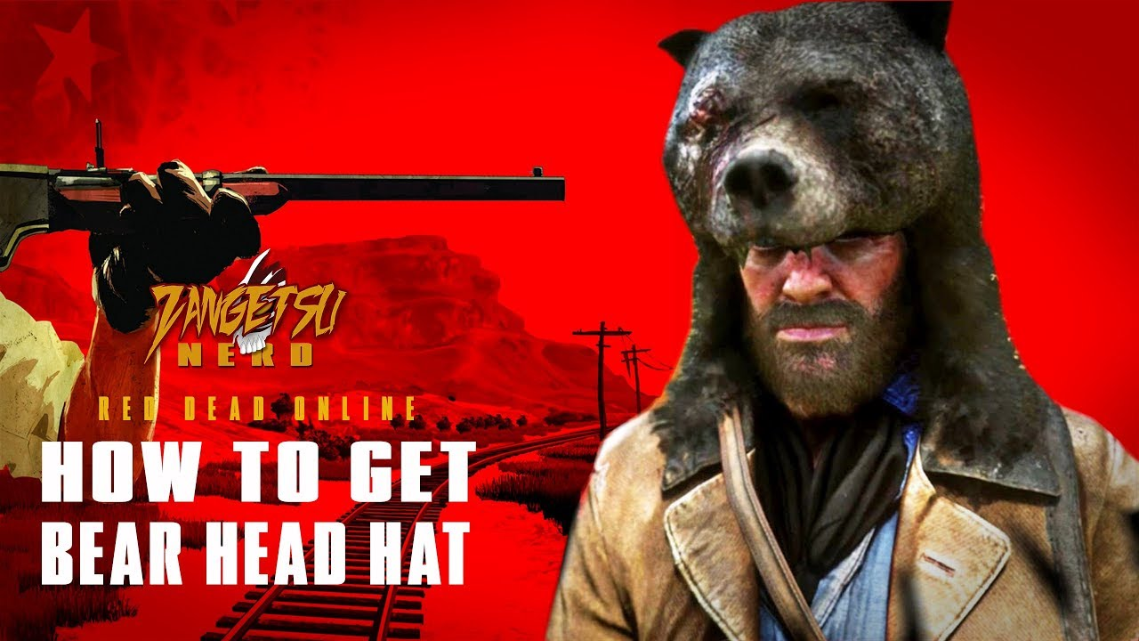How To Get Bear Head Hat In Red Dead Online - YouTube ded77b7d6841