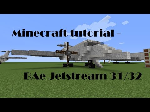 Minecraft Tutorial - BAe Jetstream 31/32
