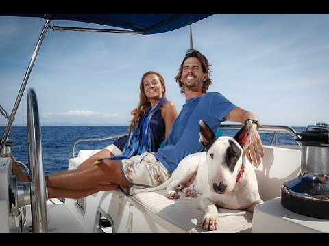 Couple Quit Their High-Flying Careers To Sail Around The World With Their Dog