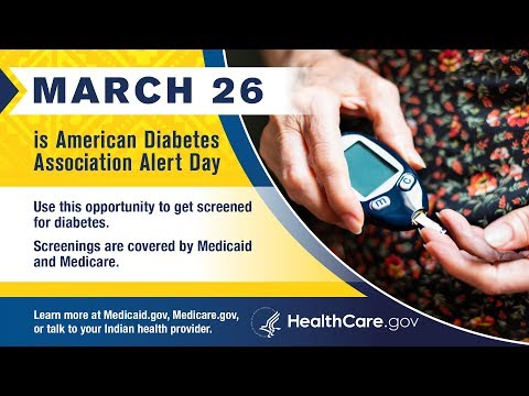 March 26 Is American Diabetes Association Alert Day - English
