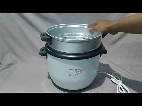 Уред за приготвяне на ориз / Black+Decker RC1860-QS / видео