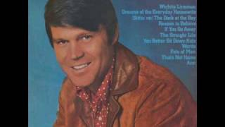 Watch Glen Campbell Dreams Of The Everyday Housewife video