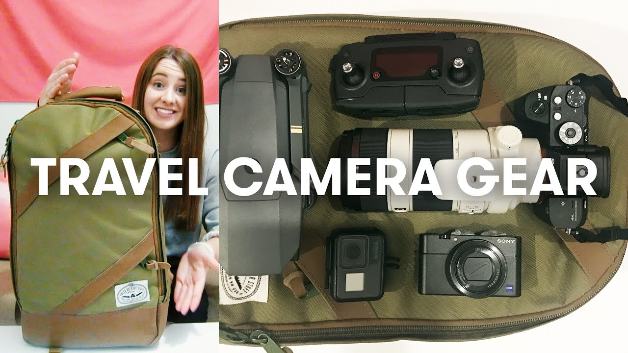 WHAT'S IN MY TRAVEL CAMERA GEAR BAG | Vlogging, Under ...
