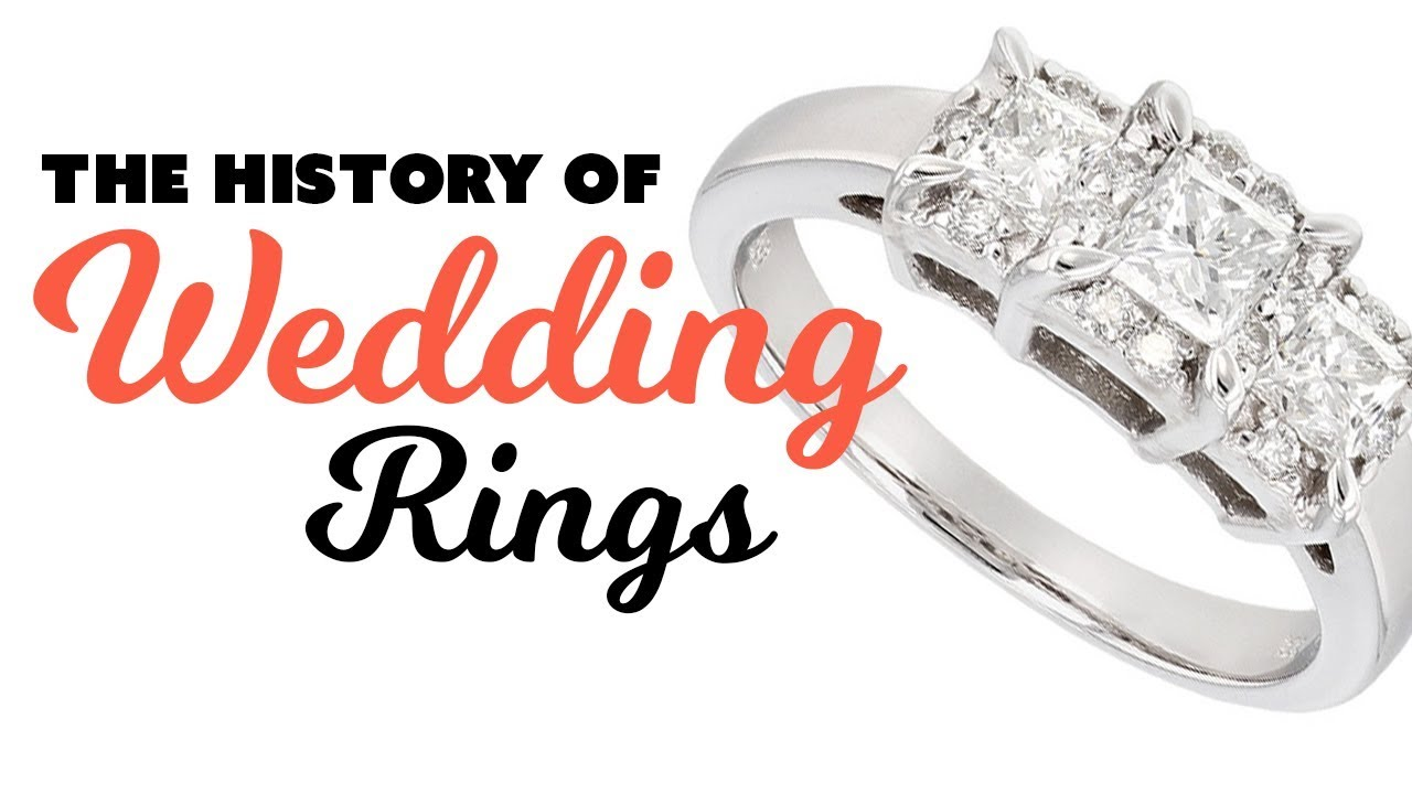 The History of Wedding Engagement Rings YouTube