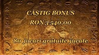 BOOK OF RA 80 SPINS MEGA BONUS MIZA 10 LEI