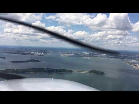Boston Logan International Airport (BOS) Landing