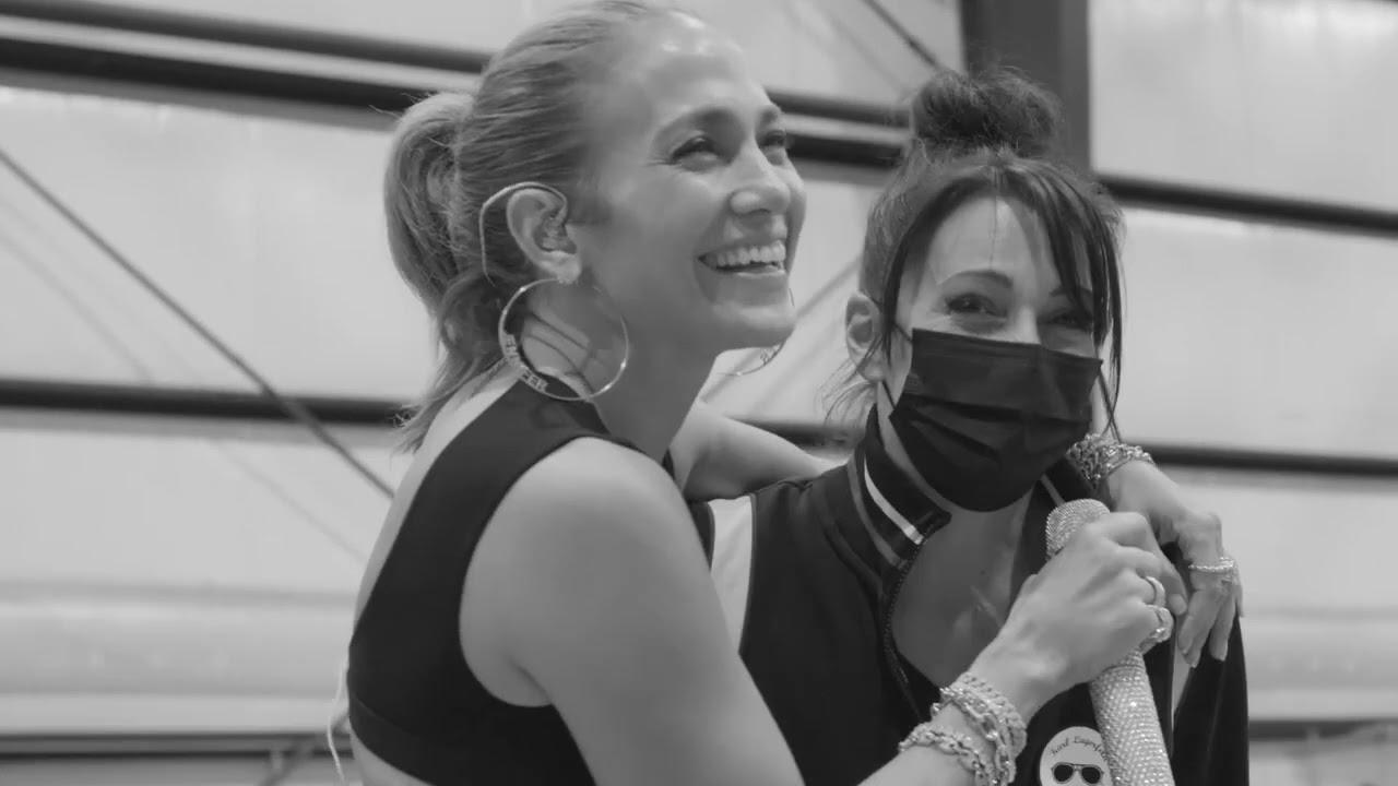 Jennifer Lopez - Global Citizen Vax Live - Making of My Performance