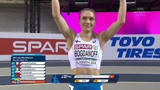 Klaudia Siciarz, Halowe Mistrzostwa Europy Glasgow 2019