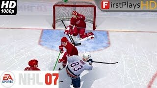 NHL 07 - PC Gameplay 1080p