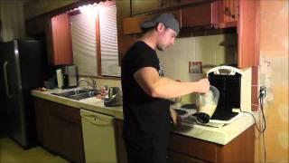 Cooking With Kalene & Shannon -- Banana Waffles.wmv