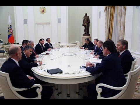 Rusya Devlet Başkanı Putin, Yıldırım'ı kabul etti
