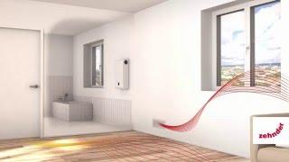 Zehnder Ventilatie: Installatie en werking Zehnder ComfoAir 70