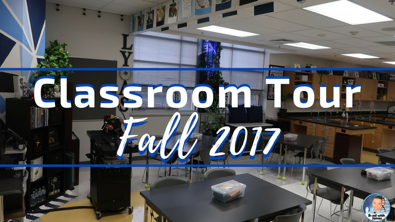 High School Science Classroom Tour | Beginning-of-Year Tour 2017-2018
