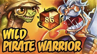 TOP 100 LEGEND | Wild Pirate Warrior | Rise Of Shadows | Hearthstone