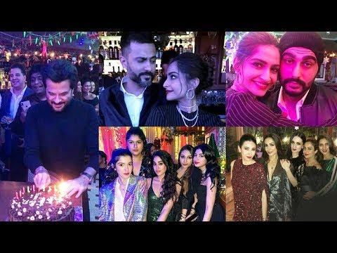 Anil Kapoor Grand 62 Birthday Party | Janhvi, Khushi, Jacqueline, Swara, Malaika, Sonam Mp3