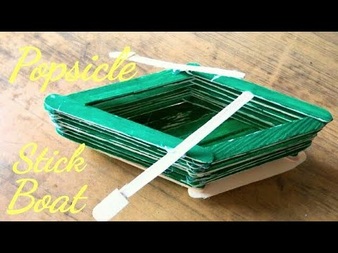fulldownload how to make a boat ice cream sticks