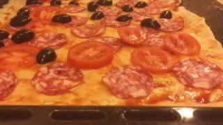 "Рецепт пиццы ""Супер"" (pizza ""Super"")"