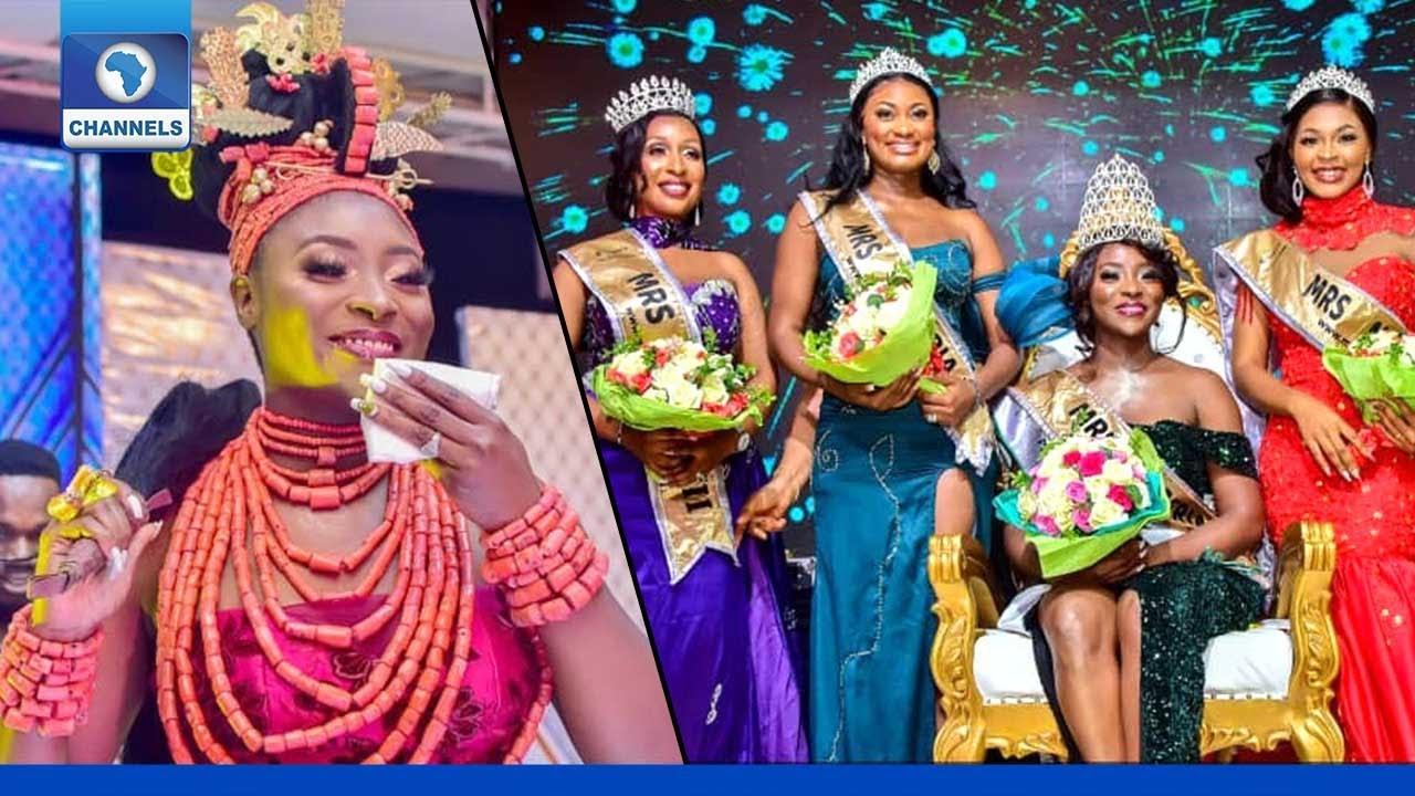 'My Husband Thought It Was A Joke' - Mrs Nigeria Speaks On Winning Beauty Pageant