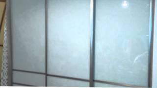 Drēbju skapis(Korpuss Egger lamināts, bīdāmās durvis-stikls ar plēvi alumīnija profilos., 2015-12-09T19:36:51.000Z)