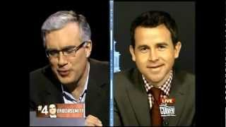 Keith Olbermann Fired Again~The 99% News~