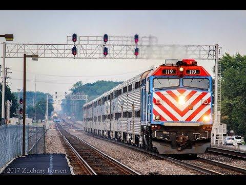 4K: Passenger Train Extravaganza (HD 60fps)