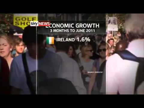 IRELANDS ECONOMY BEGINS TO GROW FASTEST IN EUROPE