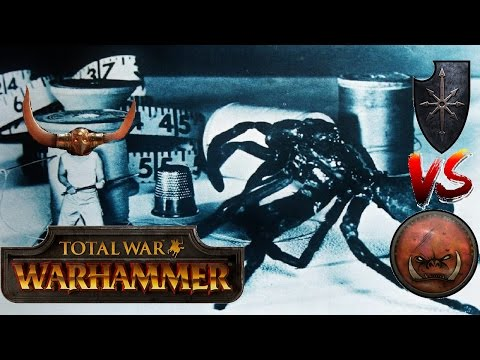 Total War Warhammer Live BattleCast #79: Chaos vs Greenskins - CROWNED AND READY TO GO