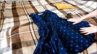 Великолепное платье в стиле ретро с aliexpress