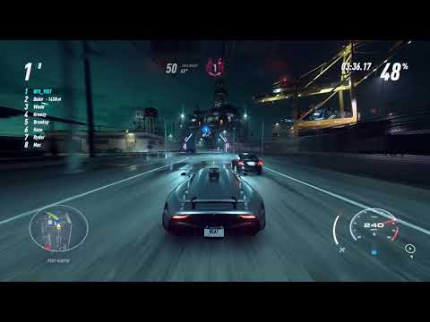 Need For Speed Heat – The Longest Race In The Game w/ Koenigsegg Regera