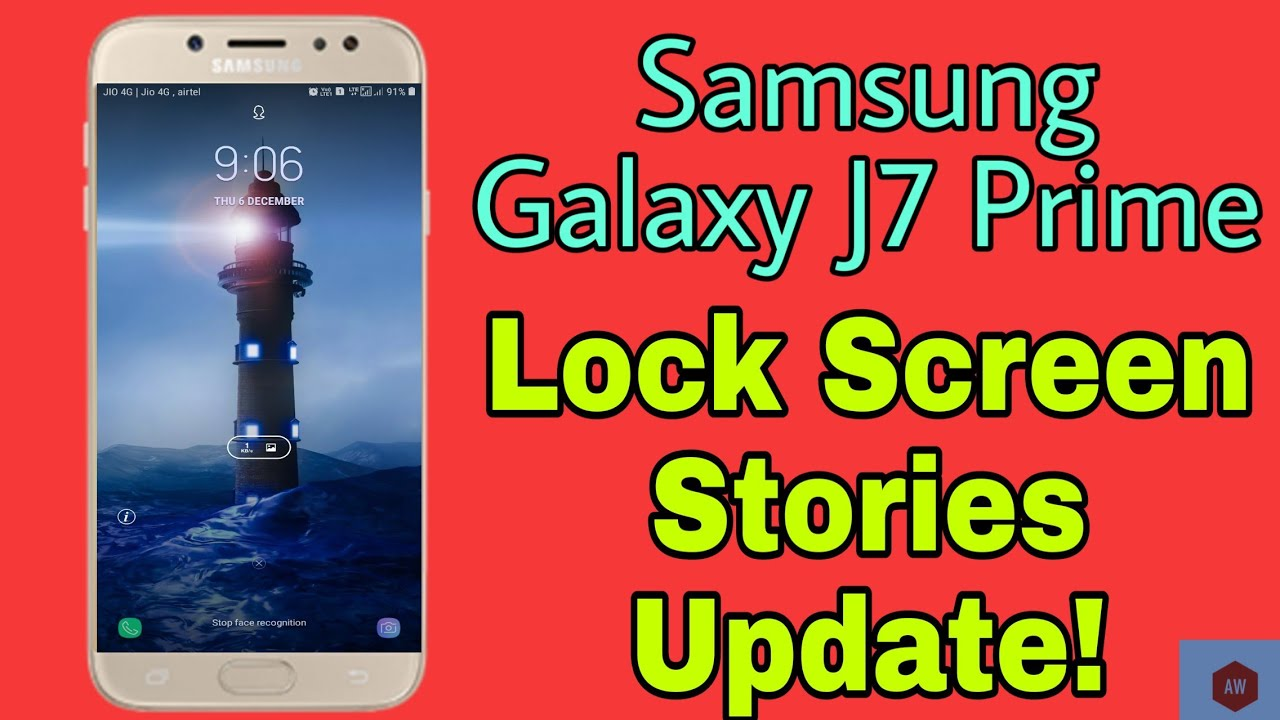 Lock Screen Stories🔥UPDATE for Galaxy J7 Prime😱!