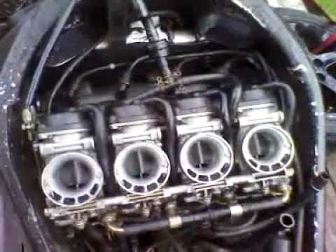 barn find= Suzuki gsxr 750 srad with 3,600 origin  YouTube