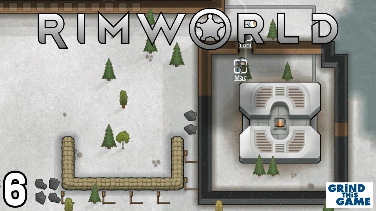 Rimworld 1 0 - Renos & Geothermal Power #6 - New Boreal