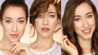 FIRST DAY OF SCHOOL MAKEUP AND HAIR TUTORIAL | BACK TO SCHOOL 2017 | ALLIE G BEAUTY