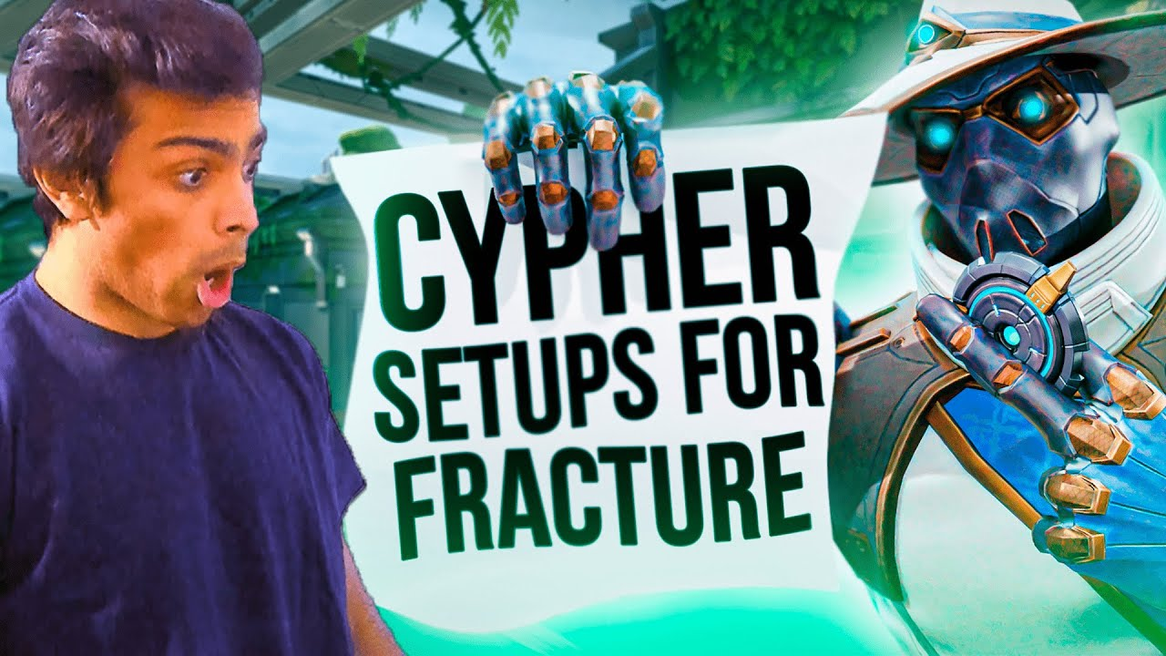 Download ALL Cypher Setups for Fracture - 200 IQ Setups - SpicyCurry - Valorant