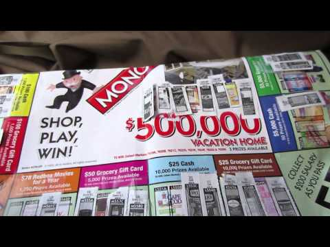 Rare Winning $1,000,000 Monopoly Tickets Revealed - Albertsons, Vons Safeway