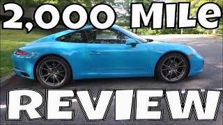 Porsche 911 - 2000 Mile Ownership Review - POV - Miami Blue