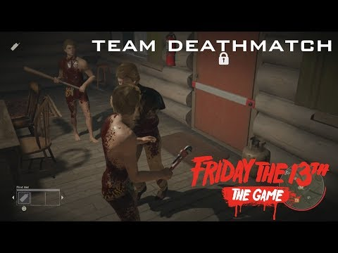 FRIDAY THE 13TH TEAM DEATHMATCH GAME MODE (Funny Moments Playing Team Deathmatch on Friday the 13th)