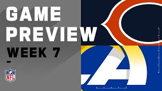 Chicago Bears vs. Los Angeles Rams | NFL Week 7 Game Preview