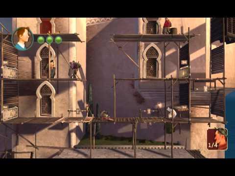 Приключения Тинтина: Тайна Единорога Part 1