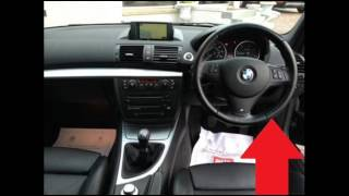 BMW 1 Series E81 E82 E87 E88 Diagnostic Port Location Video