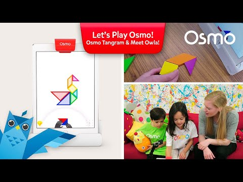 Let's Play Osmo! New update to Osmo Tangram  - Meet Owla!
