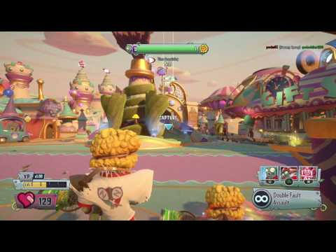 Plants vs Zombies GW2 super mix event: serve and volley: have fun part 2 out of 2
